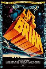 Monty Python's Life of Brian 1979 allungato tela Art movie poster cinema STAMPA