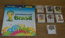 Panini WM 2014 Brasilien Brasil 1/2/5/10/20/30/50 oder 100 Sticker aussuchen