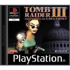 Sony PS1 Spiel - Tomb Raider 3 (DEUTSCH) (mit OVP) (sehr guter Zustand)