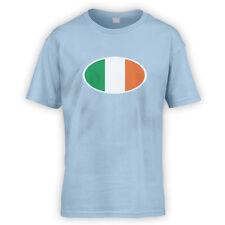 Niños de la bandera irlandesa T-Shirt-x10 Colores-Dublin Cerveza Fútbol Rugby Irlanda Bicicleta