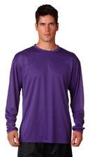 A4 Men's Sporty Moisture Wicking Performance Ultra Tight Crewneck T-Shirt. N3165