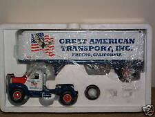 GREAT AMERICAN B MACK TRACTOR/TRL First Gear MINT 1st brown box shows shelfwear