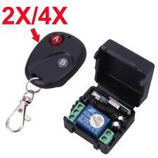 Transmetteur à télécommande sans fil portable DC 12V 433MHz + récepteur EH