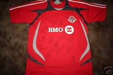 Toronto Fc Signed 2009 Mls Replica Soccer Jersey