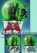 DC Comics JUSTICE LEAGUE SNOWGLOBE JLA BATMAN Superman NEW!! Statue Maquette