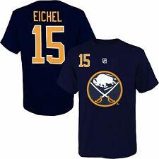 Buffalo Sabres Men's #15 'Jack Eichel' Player T-Shirt NHL Reebok Navy Blue A12ML