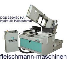 Berg & Schmid Doppel-Gehrungsbandsäge DGS 350/450 HA-I Hydraulik-Halbautomat