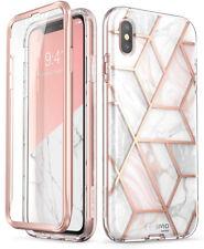 iPhone Xs Max Case i-Blason Cosmo Glitter Bumper Cover and Screen Protector