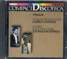 CD CLASSIQUE--VIVALDI--LE QUATTRO STAGIONI/GLORIA IN RE