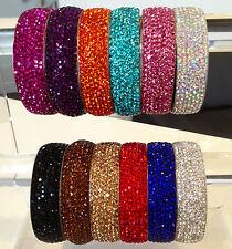 Hermoso Brillante Fabulous Rhinestone Crystal Pulseras Bellos Colores por Chi22