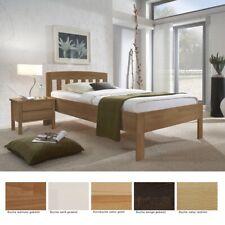 Seniorenbett Renens Comfort Nachttisch Buche Varianten Holzbett Nako Massivholz