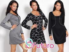 Elegance Women's Dress Long Sleeve Square Neck Jacket Suit Size 8 -16 FK1196