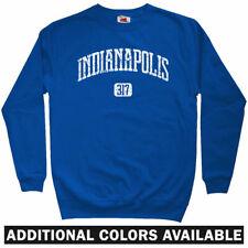 Indianapolis 317 Sweatshirt - Indiana 500 Pacers Colts IND Crewneck - Men S-3XL