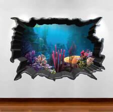 Finding Nemo Aquarium 3D Wall Art Sticker Decal Boy Girl Bedroom Mural WSD80