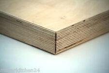 Multiplexplatte 40mm Schreibtisch Esstisch Arbeitsplatte Werkbank Möbel 125x62cm