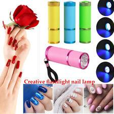 UV Gel Nail Flashlight Mini LED UV Gel Curing Lamp Light Professional Dryer