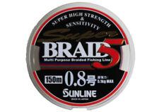 Sunline Super Braid 5 geflochtene Schnur mehrfarbig 150 m