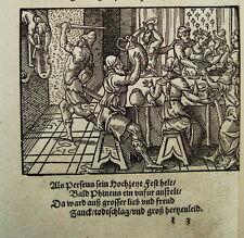 Virgil Solis matrimonio del Perseus Ovidio Chalkidiki legno sezione 1563