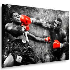 Leinwandbild Mike Tyson - Boxer Bild Wandbilder Kunstdrucke Pop Art Poster N-276