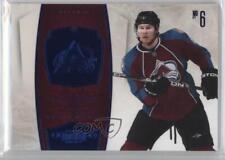 2010-11 Panini Dominion Sapphire #25 Erik Johnson Colorado Avalanche Hockey Card
