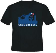 Grover Joke Cloverfield Funny Movie Parody Black TShirt