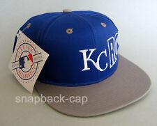 N.O.S. Cappello da Baseball Vintage Cappello KC Royals Vecchia Scuola anni'90