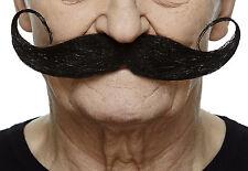 High quality Capt' Hook false, self adhesive mustache