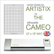 """Artistix Cutting Mat Graphtec Silhouette Cameo Craft Robo 12"""" x 18"""" A3 Sheet New"""