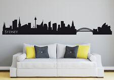 Skyline Sydney - Deko Wohnzimmer Australien City Stadt Wandaufkleber WandTattoo