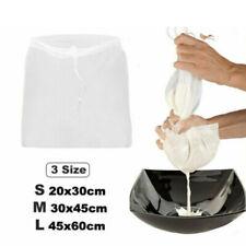 Nourriture Filtre Réutilisable Coton Lait Écrou Bio Passoire Grade Sac en Nylon