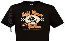 T Shirt Café Racer Vintage Old School Triumph Collection , Custom Rider Team