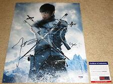 Rare Byung-hun Lee Signed 11x14 Storm Shadow G.I. Joe: Retaliation PSA/DNA