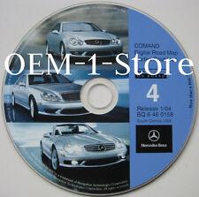 01 02 03 MERCEDES S S430 S500 S600 S55 AMG NAVIGATION MAP CD 4 AR LA MS OK TN TX