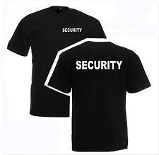 SECURITY T-Shirt S - 4XL verschiedene Druckfarben zur Auswahl SE1