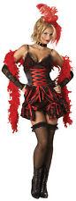 Dance Hall Darling Adult Womens Costume Show Girl Saloon Halloween