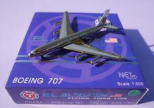 Flying Tiger Line B707 Special Golden Net Models  scale 1:500   Diecast models