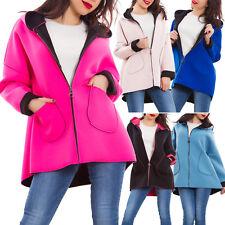 veste femme manteau linea annonce un à capuche fermeture éclair casual AS-0562