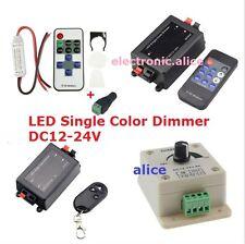 DC12-24V Single Color RF Wireless Dimmer Remote Controller Led Strip 5050 3528