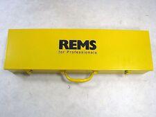 """REMS EVA Metall koffer für Schneidköpfe 1/4"""" - 1 1/4"""" Amigo 2 nur Koffer id.133"""