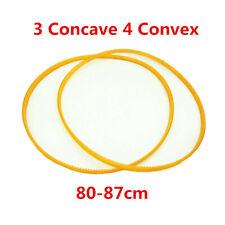 2PC Transmission PU Belt Three Concave Four Convex Wheel Balancer Part 80-87cm