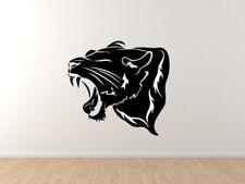 Nature Predator - Roaring Big Cat - Lion Tiger Jaguar Leopard - Vinyl Wall Decal