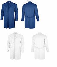 Berufsmantel kornblau weiß Mantel Kittel Arbeitskittel Malerkittel Malermantel