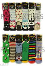 3 Pairs Of Boys Girls Thermal Slipper Socks, Non-Skid Gripper Socks, Winter Gift