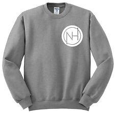 "Niall Horan / One Direction 1D ""NH Circle Logo"" Crew Neck Sweatshirt"