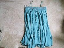 BCBG PARIS FOLIAGE GREEN SILK DRESS SIZE 8 NWT $272