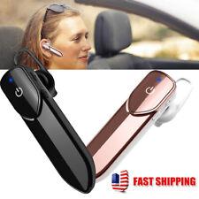 Bluetooth 4.2 HandsFree Car Headset Earbud Stereo Headphone Earphone with Mic