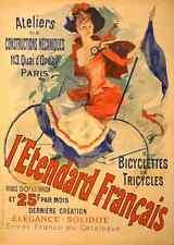 Vintage Français Style Art Nouveau shabby chic imprimés & AFFICHES 151 A1, A2,
