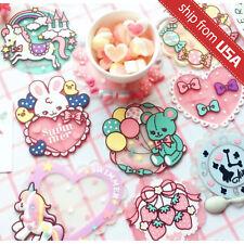 Swimmer JAPAN Kawaii Coaster for Mug Cup Lolita Cute Cat Bear Unicorn Harajuku