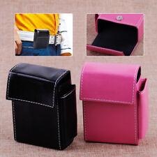PU Leather Lighter Cigarette Tobacco Storage Pouch Case Box Holder Wallet Purse
