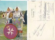 Cartolina Rarissima  COSTUMI SARDI - SENNORI  - SASSARI